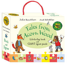The Gruffalo: Tales from acorn wood book and jigsaw