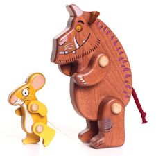 The Gruffalo: The Gruffalo and Mouse Wooden Figurines