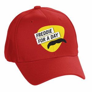 Freddie For A Day: Casquette de baseball rouge « Freddie For A Day »