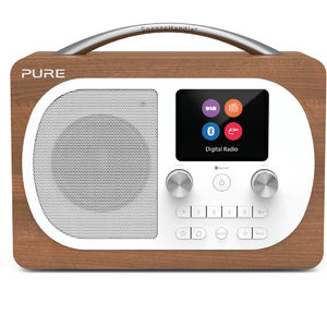 Pure: Evoke H4, Walnut EU/UK