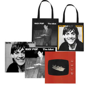 Iggy Pop: Lust For Life, The Idiot, TV Eye Live & Tote Bag