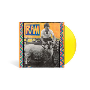 Paul and Linda McCartney: Ram Limited Edition Yellow Vinyl
