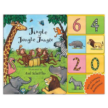 Axel Scheffler: Jingle Jangle Jungle (Board Book and Domino Pack)