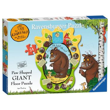 The Gruffalo: The Gruffalo 24 Piece Paw Shaped Giant Floor Puzzle