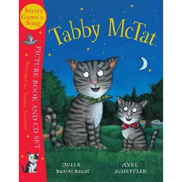 Donaldson and Scheffler: Tabby McTat (Paperback and CD)