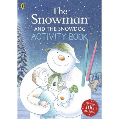 The Snowman: The Snowman and The Snowdog Activity Book (Paperback)