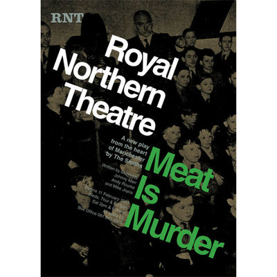 The Smiths: 'Meat Is Murder' Theatre Poster Print: The Plays of Morrissey and Marr