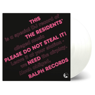 The Residents: Please Do Not Steal It: Transparent Numbered Vinyl