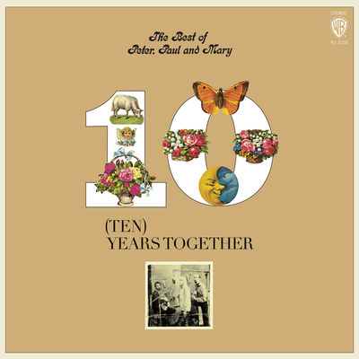 Peter, Paul & Mary: The Best of Peter, Paul & Mary: Ten Years Together: Orange & Yellow Vinyl