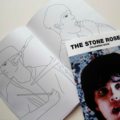 The Stone Roses: The Stone Roses Colouring Book