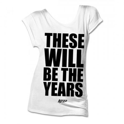 alesso: These Will Be The Years Ladies T-Shirt