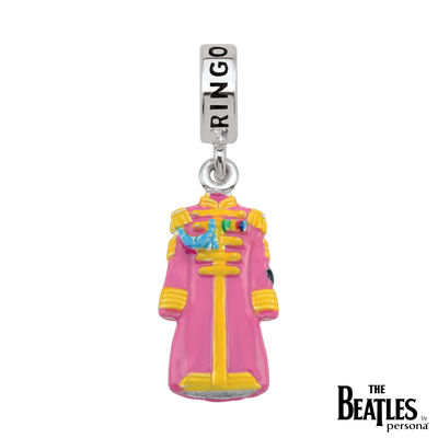 The Beatles: 925 Sterling Silver Sgt. Pepper Ringo Starr Jacket Charm