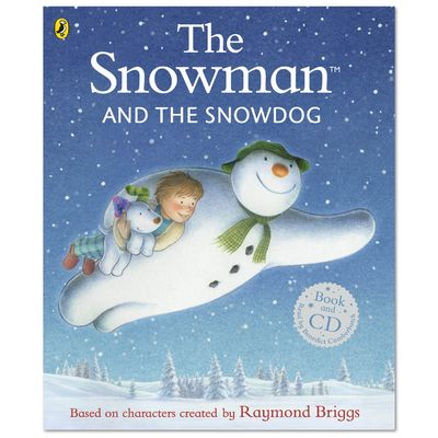 The Snowman: The Snowman and The Snowdog (Book and CD)