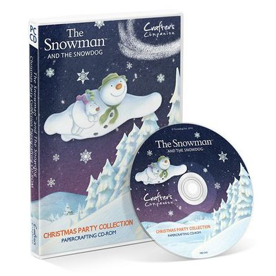 The Snowman: Crafters Companion The Snowman and Snowdog - Christmas Party Collection (CD-ROM)