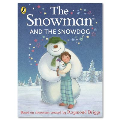 The Snowman: The Snowman and The Snowdog (Board Book)
