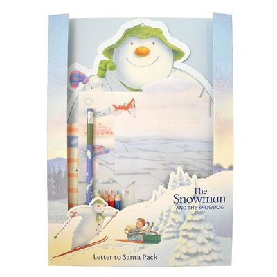 The Snowman: The Snowman Letter to Santa Pack