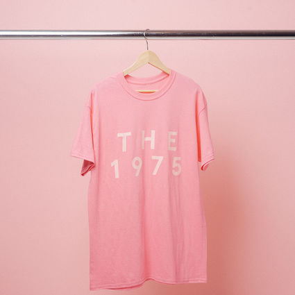 The 1975: Pink on Pink Pop Up T-Shirt