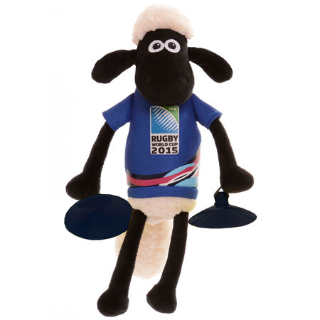 Shaun the Sheep: RWC 2015 Shaun The Sheep Window Stick-Ons Blue
