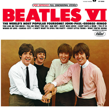 The Beatles: Beatles IV (USA Version)