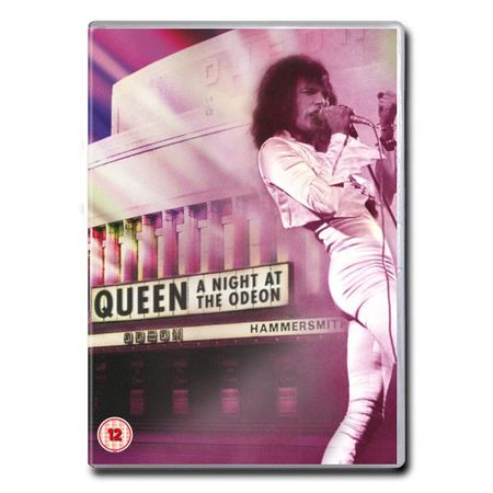 Queen: A Night At The Odeon - Hammersmith 1975 (DVD)