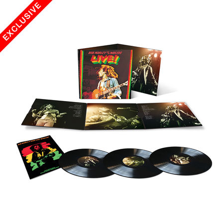 Bob Marley and The Wailers: Live! + Exclusive No Woman, No Cry 7