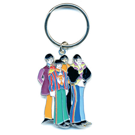 The Beatles: Sub Band Keychain