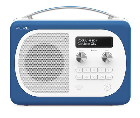 Pure: Evoke D4 Mio with Bluetooth (Cerulean)