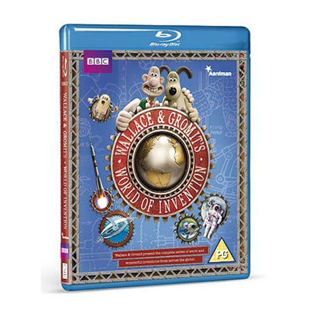 Wallace & Gromit: Wallace And Gromit's World Of Invention Blu Ray