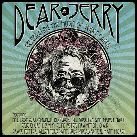 Various Artists: Dear Jerry: Celebrating The Music Of Jerry Garcia (DVD + 2CD)
