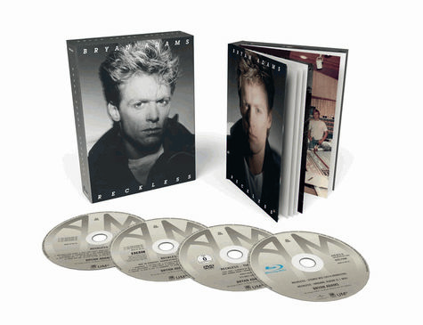 Bryan Adams: Reckless (30th Anniversary) - Super Deluxe (2CD/DVD/BLURAY)