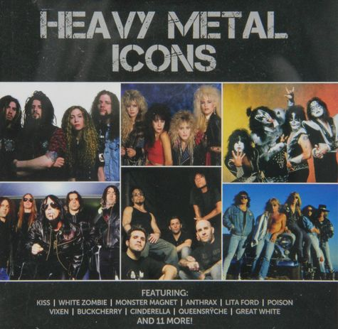 Various Artists: Icon: Heavy Metal (2CD)