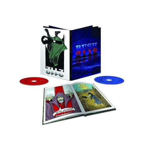 Rush: 2112: Super Deluxe Edition (CD + Blu-Ray)