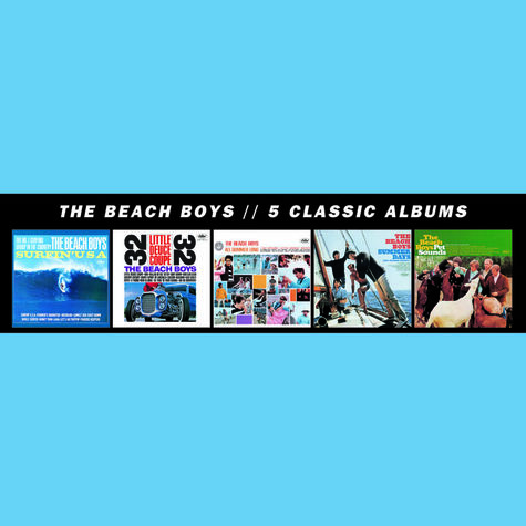 The Beach Boys: 5 Classic Albums (5CD)