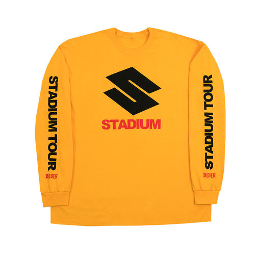 Justin Bieber: Stadium Long Sleeve T-Shirt