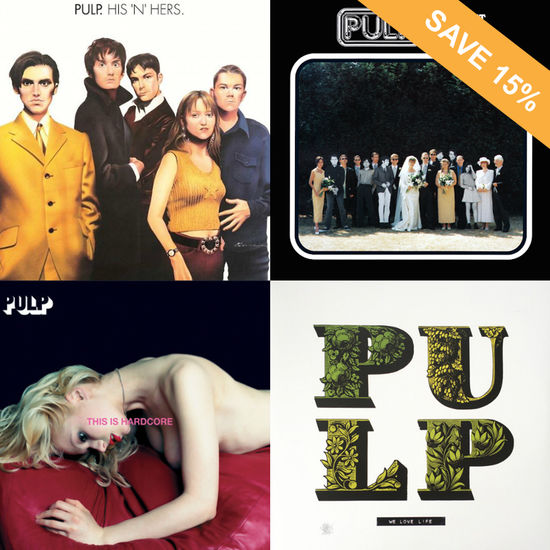 Pulp: Pulp Vinyl Bundle - 15% OFF