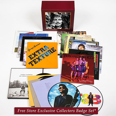 George Harrison: George Harrison – The Vinyl Collection + Exclusive Enamel Pin set