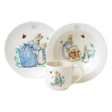Peter Rabbit: Peter Rabbit 3 Piece Nursery Set