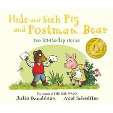 Donaldson and Scheffler: Tales from Acorn Wood: Postman Bear and Hide and Seek Pig 15th Anniversary (Board Book)