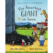 Donaldson and Scheffler: The Smartest Giant in Town (Board Book)