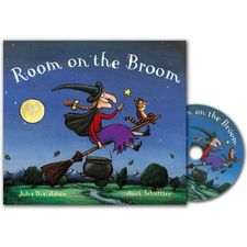 Donaldson and Scheffler: Room on the Broom (Paperback and CD)
