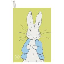 Peter Rabbit: Peter Rabbit Contemporary Tea Towel (Line Art Peter)