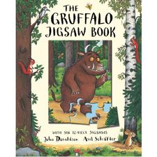 The Gruffalo: The Gruffalo Jigsaw Book (Hardback)