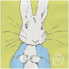 Peter Rabbit: Peter Rabbit Contemporary Napkin (Line-Art Peter)