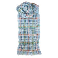 Peter Rabbit: Peter Rabbit Tartan Shrink Effect Scarf