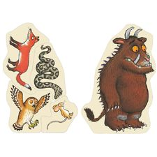 The Gruffalo: The Gruffalo Wooden Character Puzzle