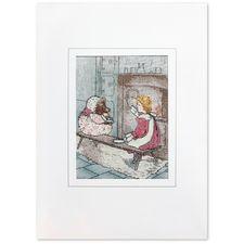 Mrs Tiggy-winkle: Mrs Tiggy-Winkle Woven Card