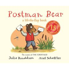 Donaldson and Scheffler: Tales from Acorn Wood: Postman Bear 15th Anniversary Edition (Board Book)