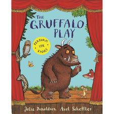 Donaldson and Scheffler: The Gruffalo Play (Paperback)
