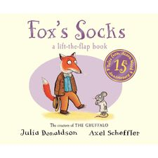 Donaldson and Scheffler: Tales from Acorn Wood: Fox's Socks 15th Anniversary Edition (Board Book)