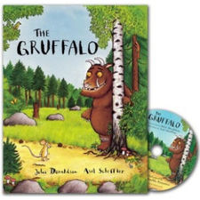 The Gruffalo: The Gruffalo (Paperback and CD)